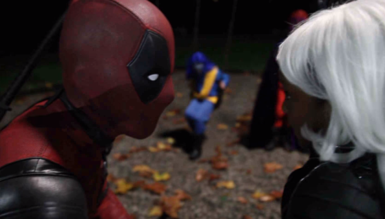 Ryan Reynolds What Deadpool Did On Halloween Video