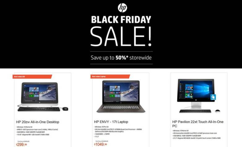 HP Full Black Friday 2015 Ad