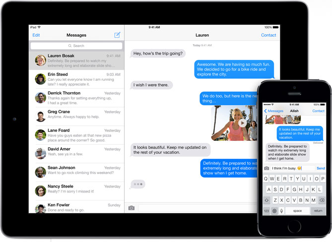 Apple Pay PayPal iMessage