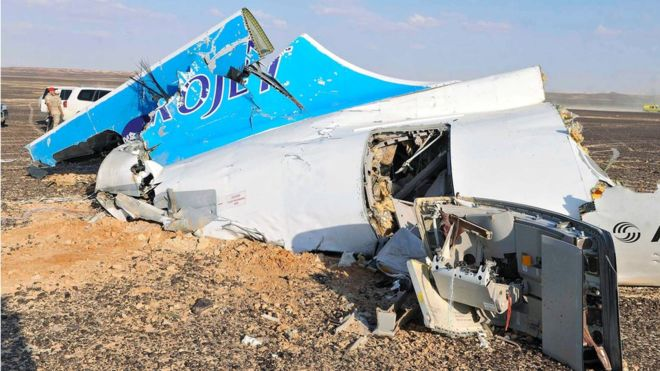 ISIS Soda Can Bomb Airplane MetroJet KGL9268