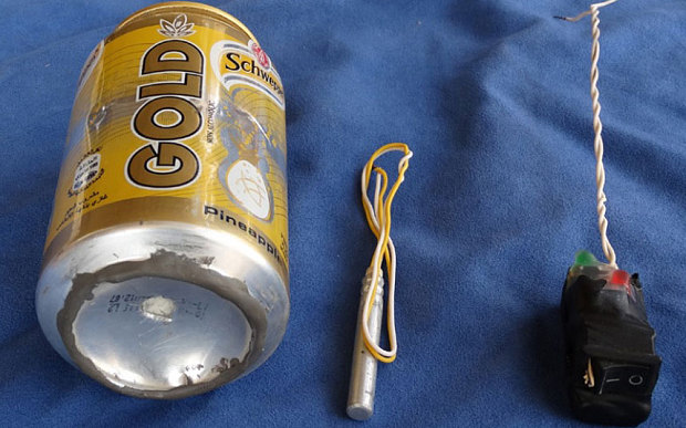 ISIS Russian Plane Soda Can Bomb