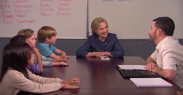 Jimmy Kimmel Hillary Clinton