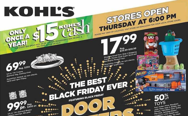 Kohls Full Black Friday 2015 Ad Leaked