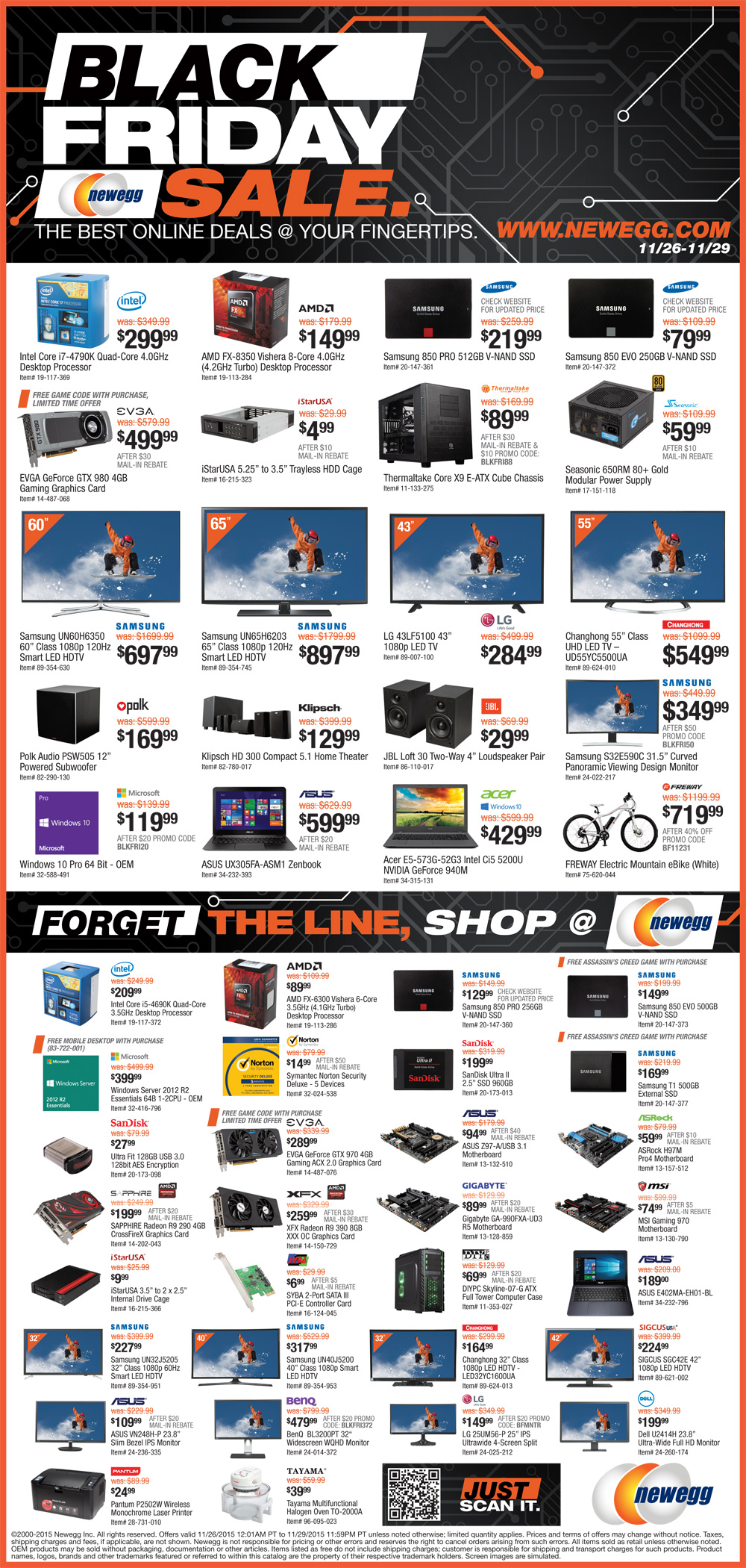 Newegg Updates: The Black Friday ad is now live, but we are still expecting a Cyber Monday circular. Ad Scan: We posted the page Newegg Black Friday ad on November 8, which is actually two days earlier than last year. Newegg's ad is dubbing this its ultimate sale with thousands of deals more being included at vegamepc.tk5/5(1).