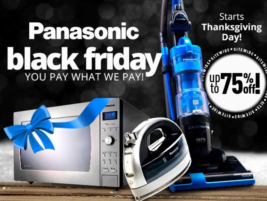 Panasonic Full Black Friday 2015 Ad