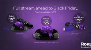 Roku Black Friday 2015 Deals