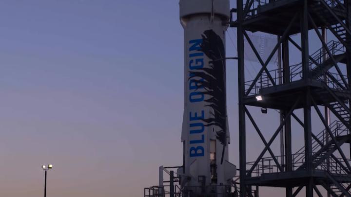 Jeff Bezos Blue Origin Reusable Rocket Video