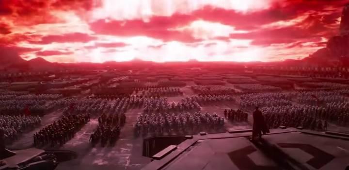 Star Wars Force Awakens Kylo Ren Han Solo