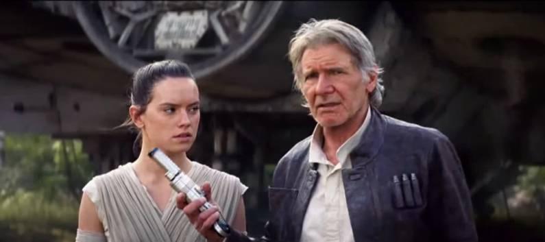 Star Wars Force Awakens Rey Background