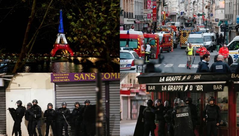 SWAT Raid Paris ISIS