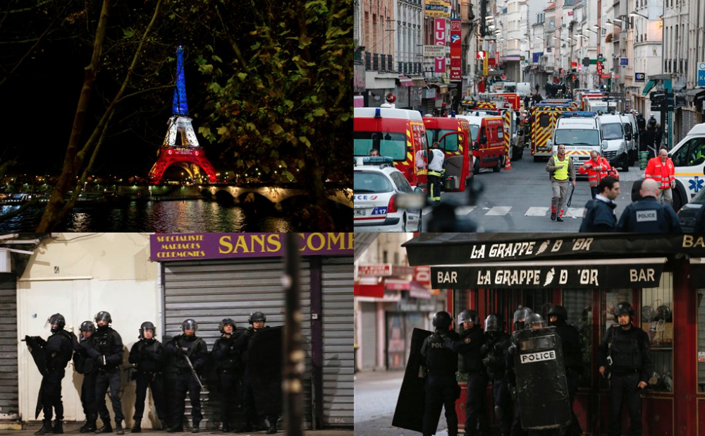 SWAT Raid Paris ISIS