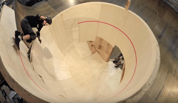Tony Hawk Horizontal Loop Video