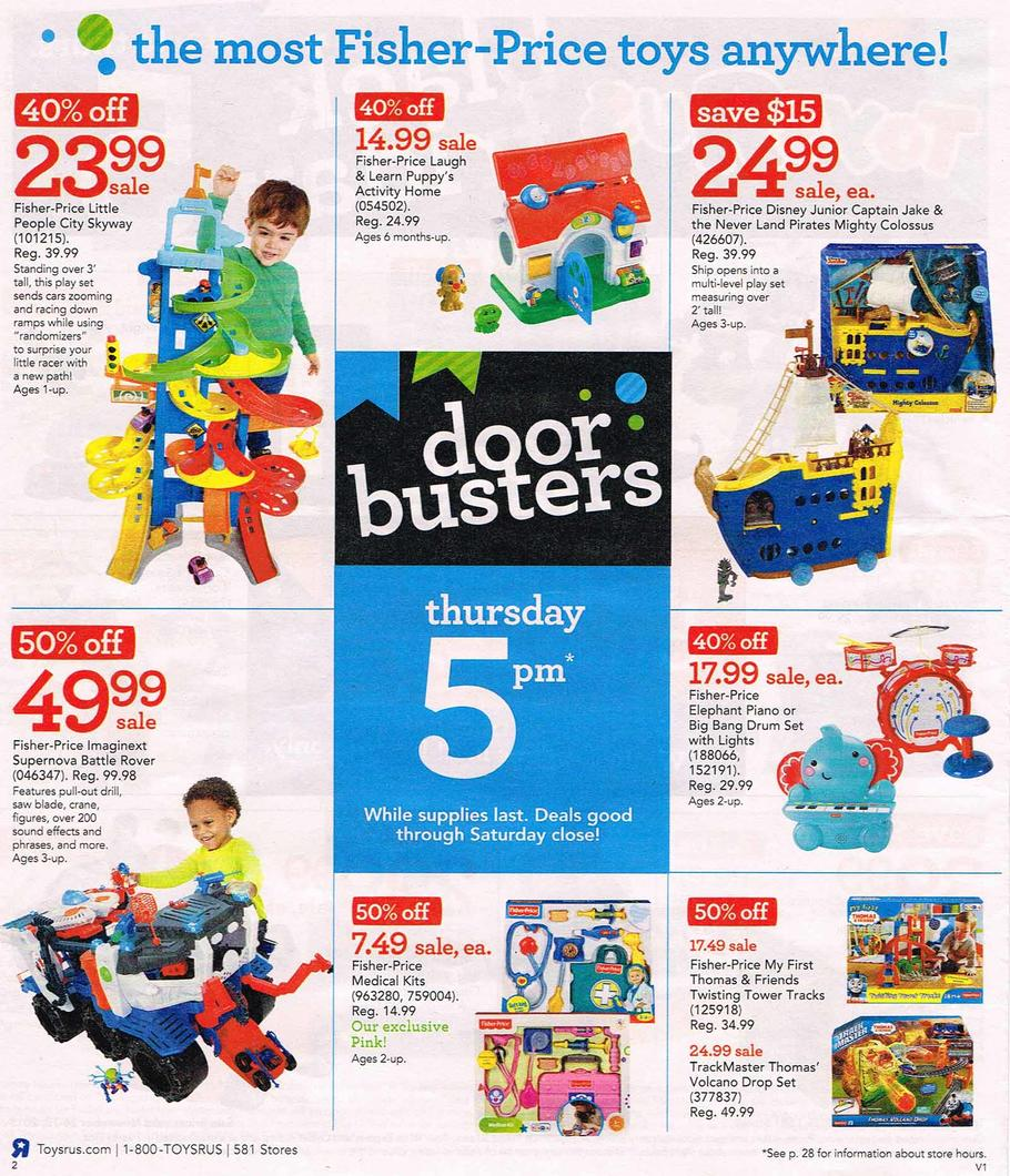Toys R Us and Babies R Us stores are geared up for the much anticipated Black Friday sales, prompting parents to be on the look-out for the best deals on their kid's most favoured toy picks and baby products this year.