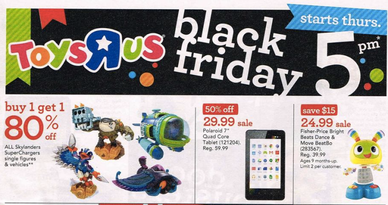 Toys R Us Black Friday 2015 Ad