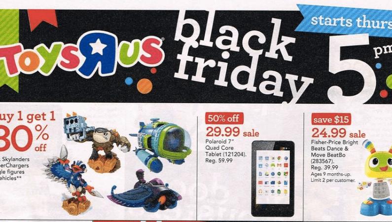 Toys R Us Black Friday 2015 Ad