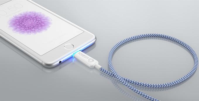 UsBidi Intelligent Phone Charger Kickstarter
