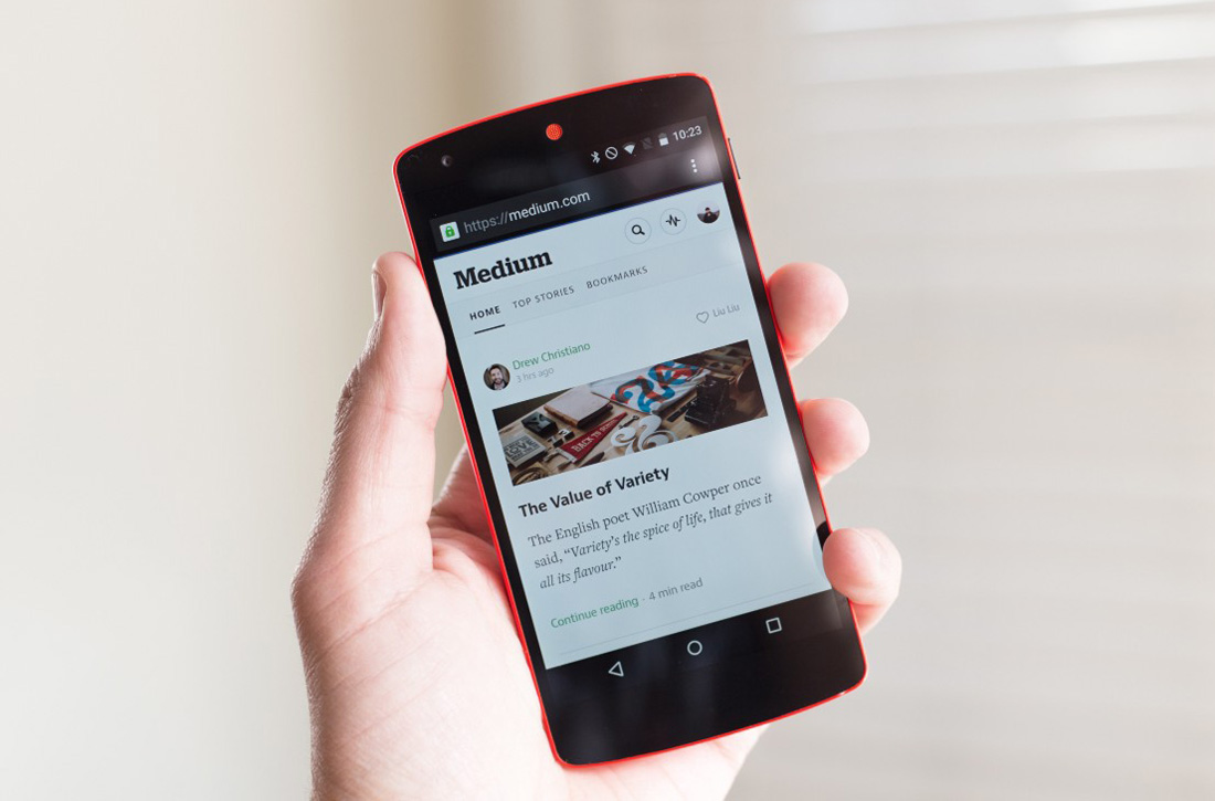 Chrome for Android Offline Downloads