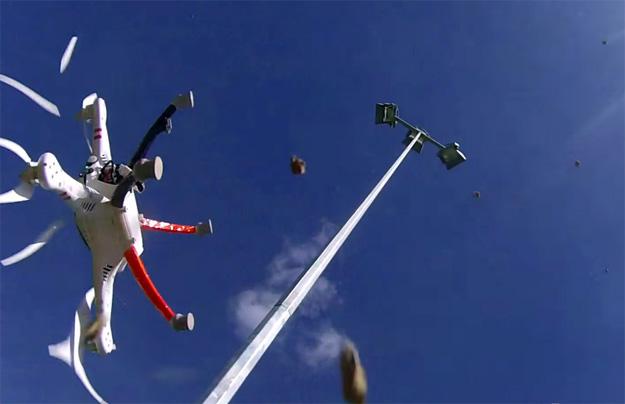 Drone Crash Video
