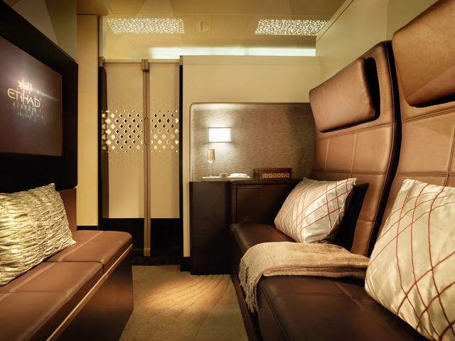 Etihad Airways A380 Residence Flight Video