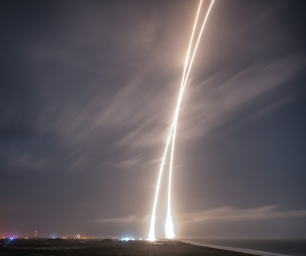 first stage landing