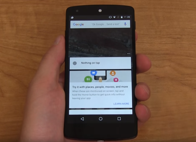 Google Now On Tape Update New Features