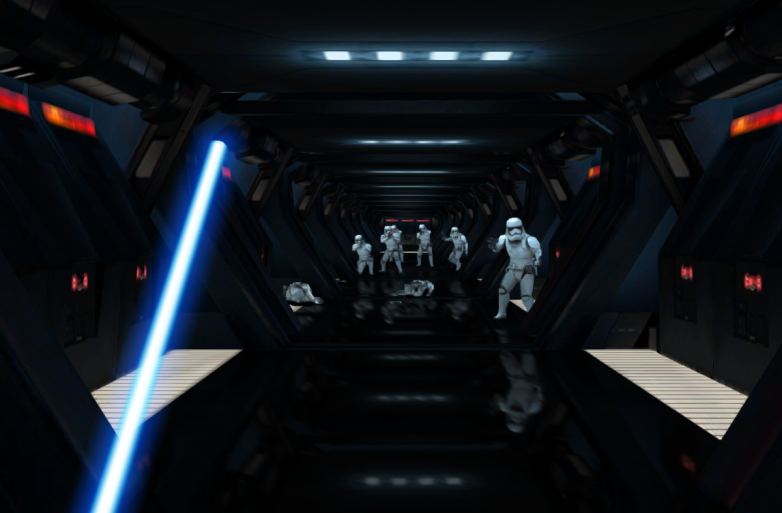 Google Star Wars Lightsaber Game