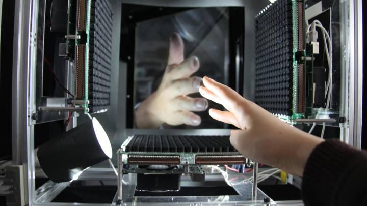 Haptoclone Holograms Touch Telehaptics