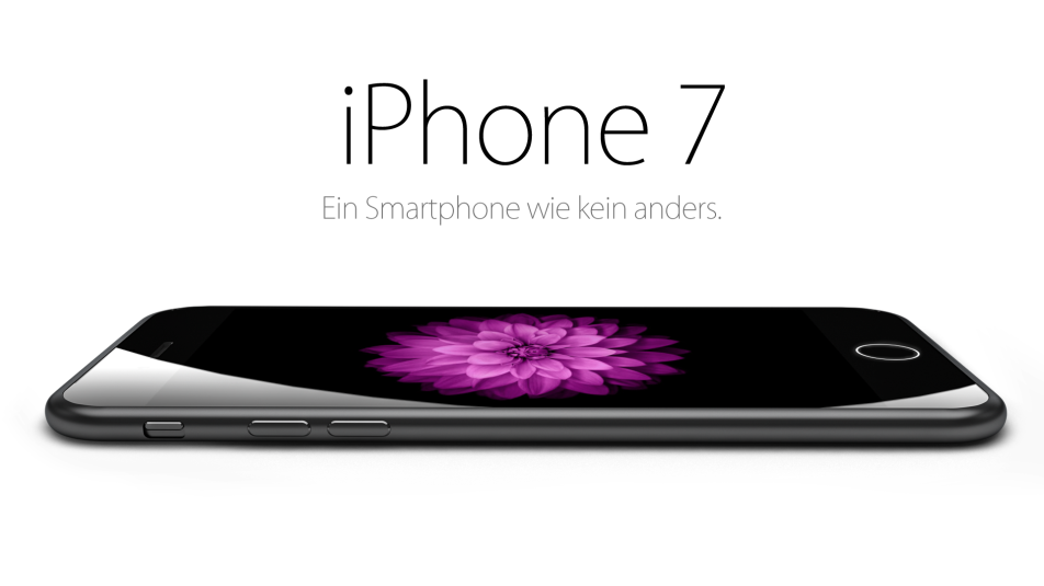 iPhone 7 Concept No Headphone Jack