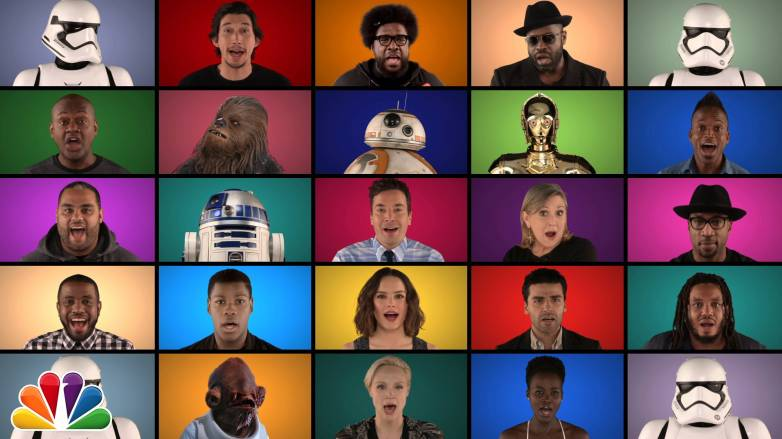 Jimmy Fallon Star Wars Medley