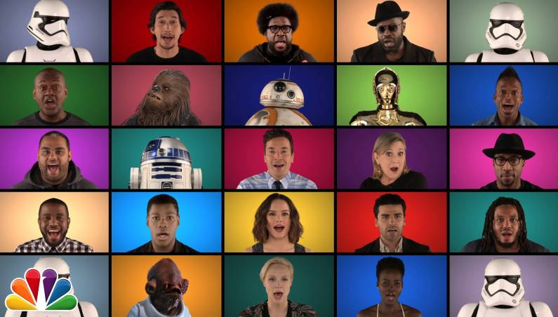Jimmy Fallon Star Wars Medley