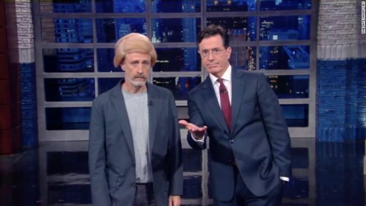 Stephen Colbert Jon Stewart Late Show