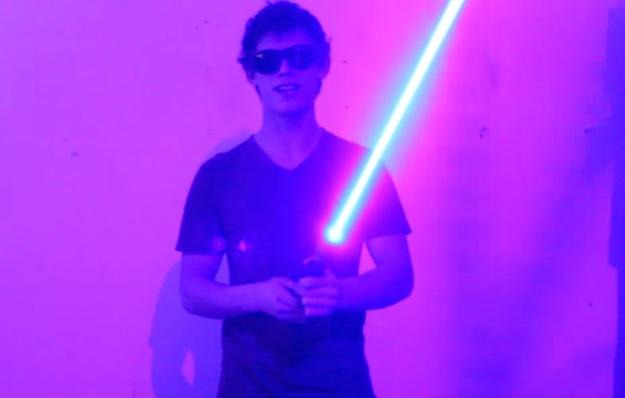 Star Wars DIY Lightsaber