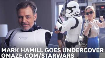 Luke Skywalker Force Awakens Omaze