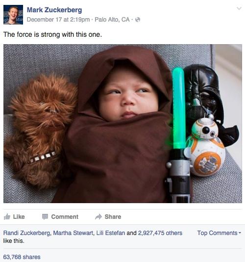 max zuckerberg star wars