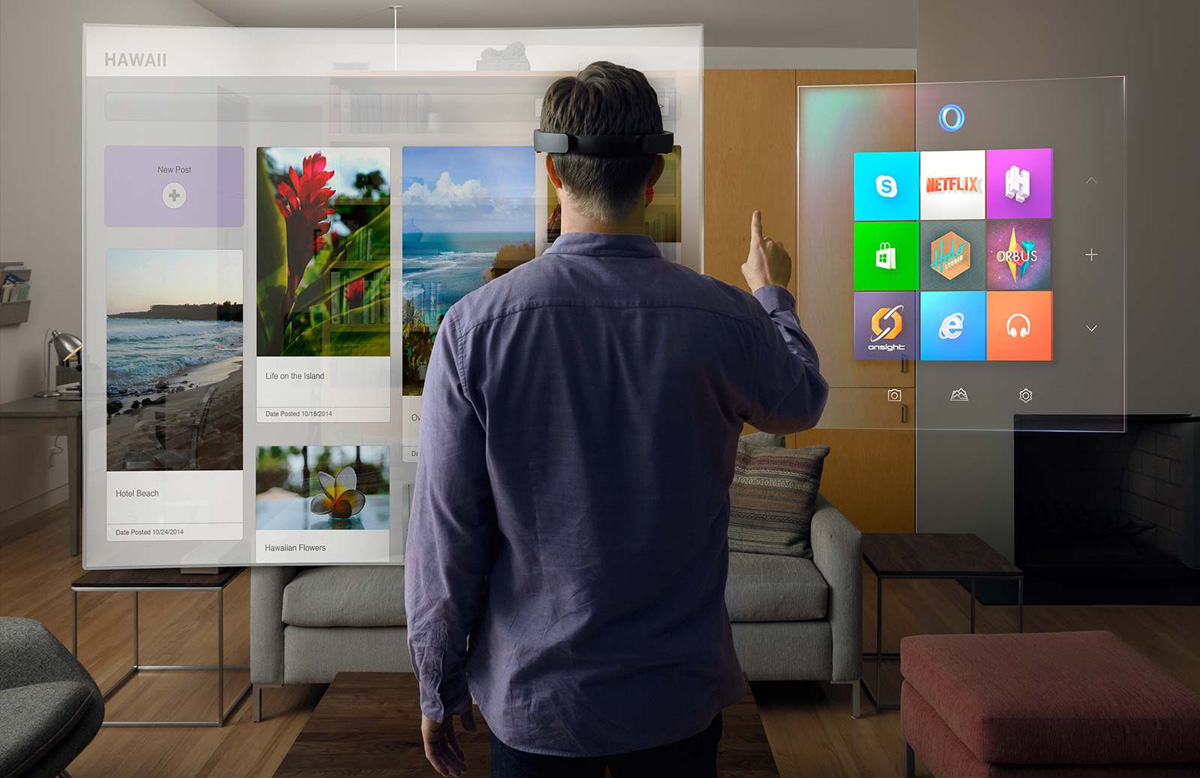 Microsoft HoloLens Hands-On Demo