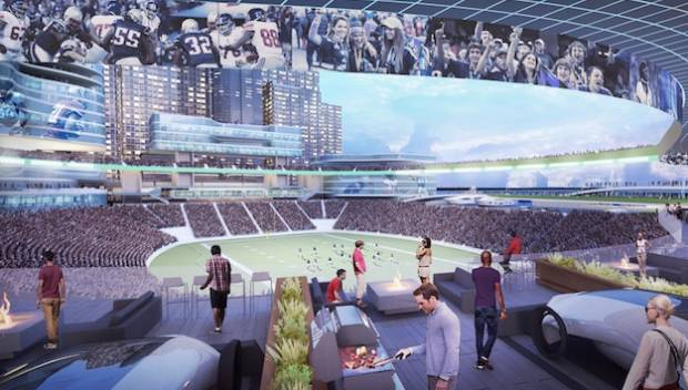 NFL Stadiums Of The Future