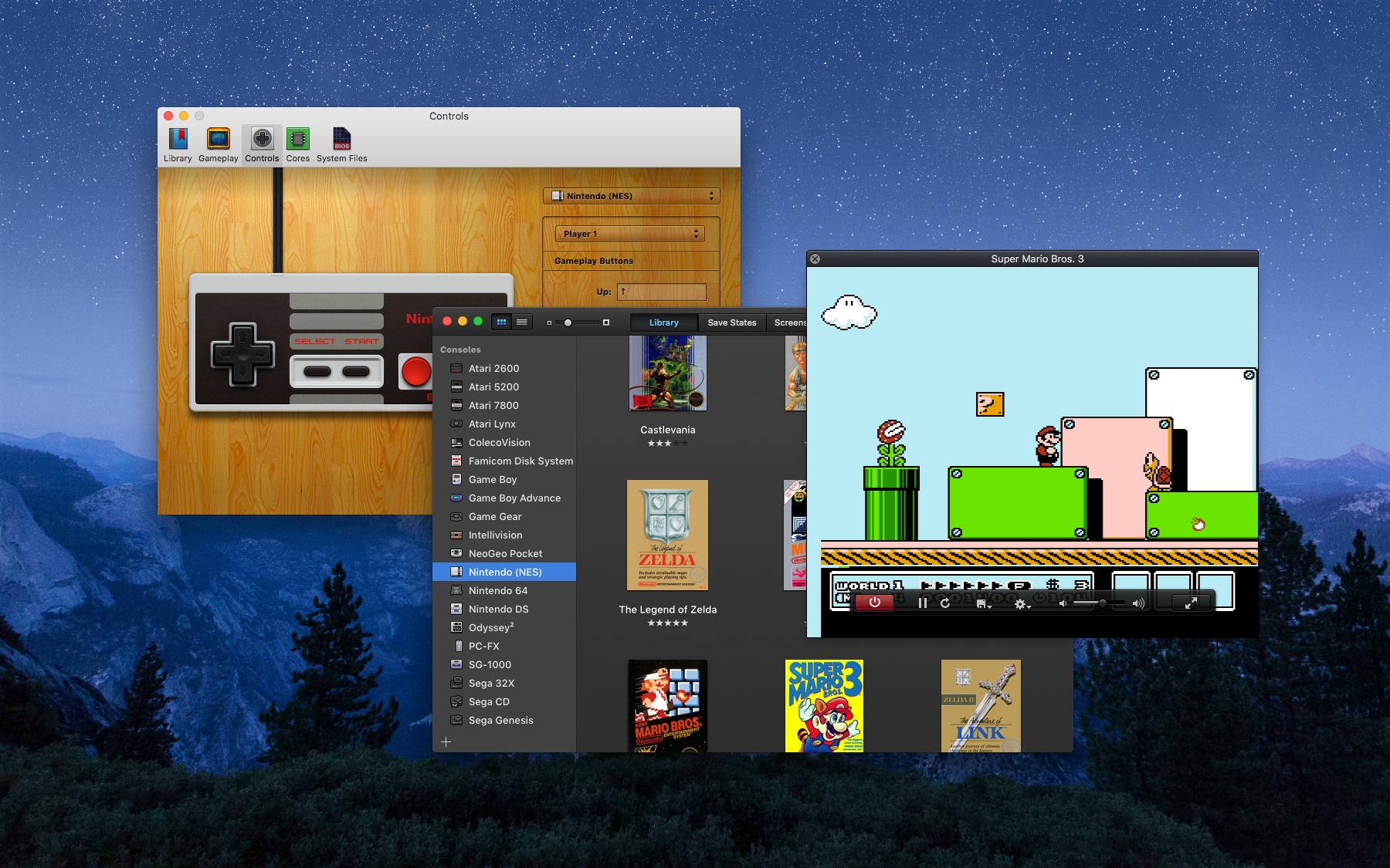 OpenEmu Video Game Emulator