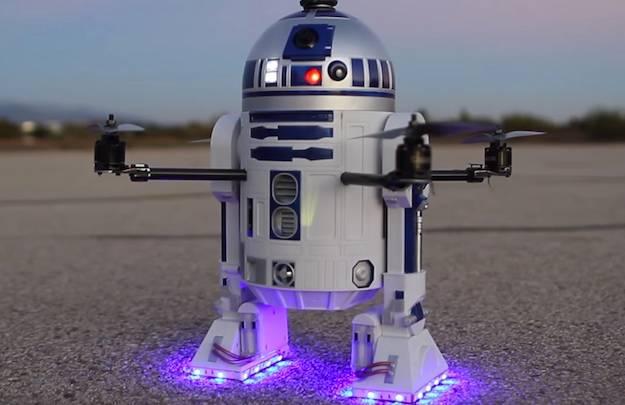 R2-D2 Drone