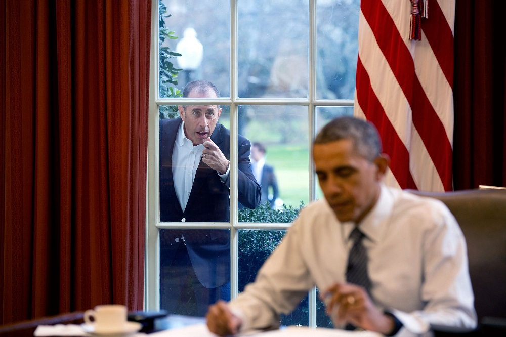 Jerry Seinfeld Barack Obama