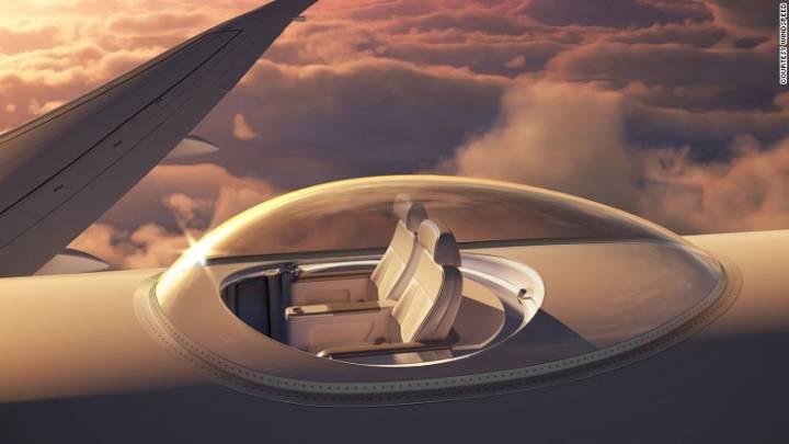 Windspeed SkyDeck Seats Top Plane