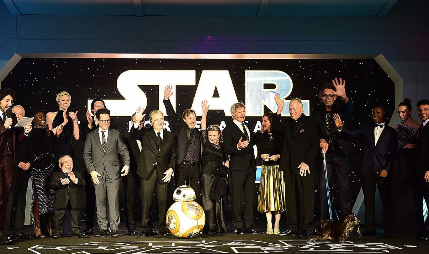 Star Wars Force Awakens Cast