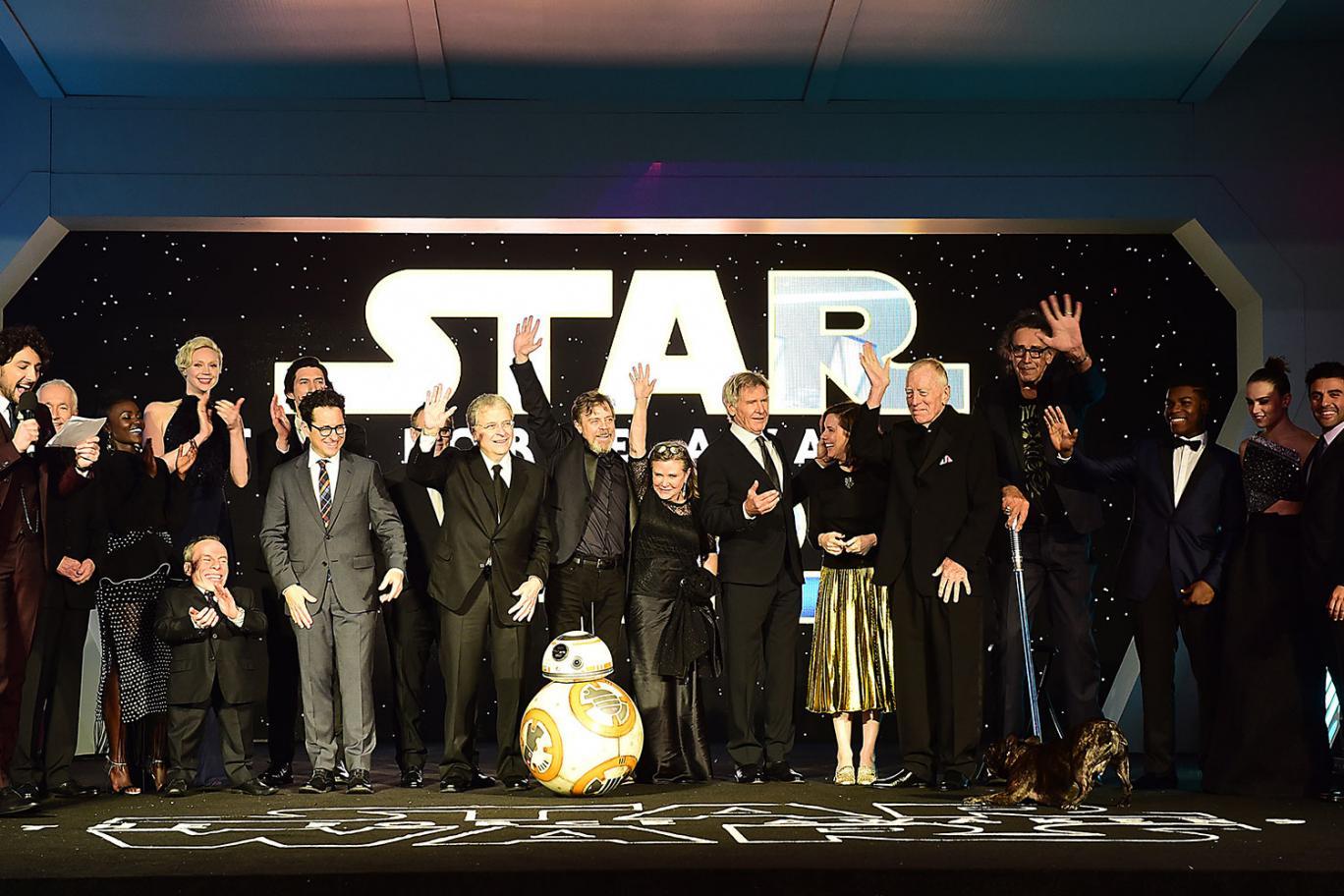 Star Wars Force Awakens Records