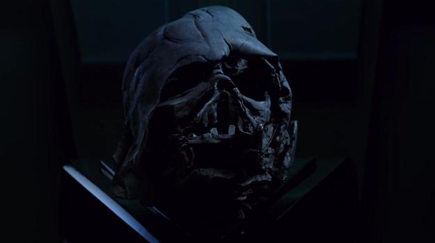 How Did Kylo Ren Get Darth Vader's Helmet