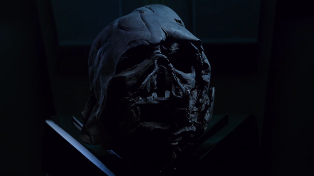 How Did Kylo Ren Get Darth Vader's Helmet