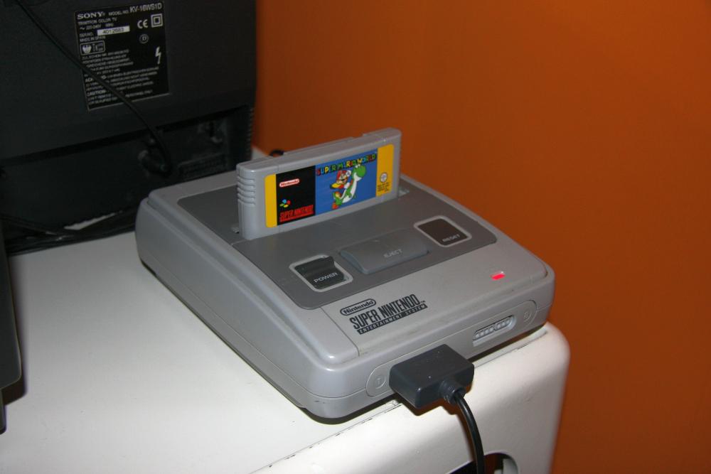 Super Nintendo 20 Years Saved Game
