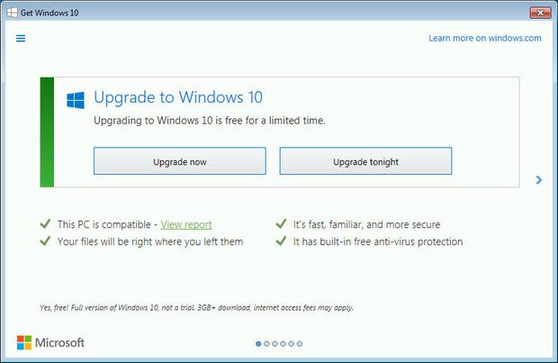Best option to upgrade microsoft to windows 10