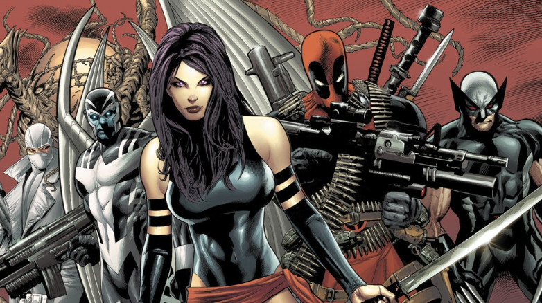 X-Force Movie Characters