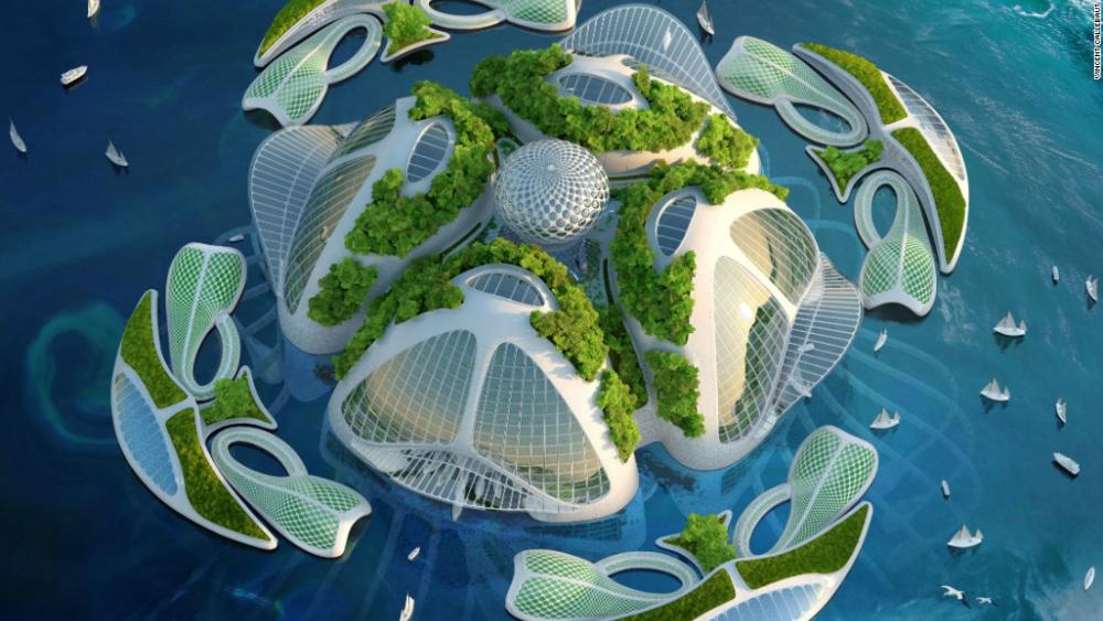 Underwater Aequorea Oceanscrapers Vincent Callebaut