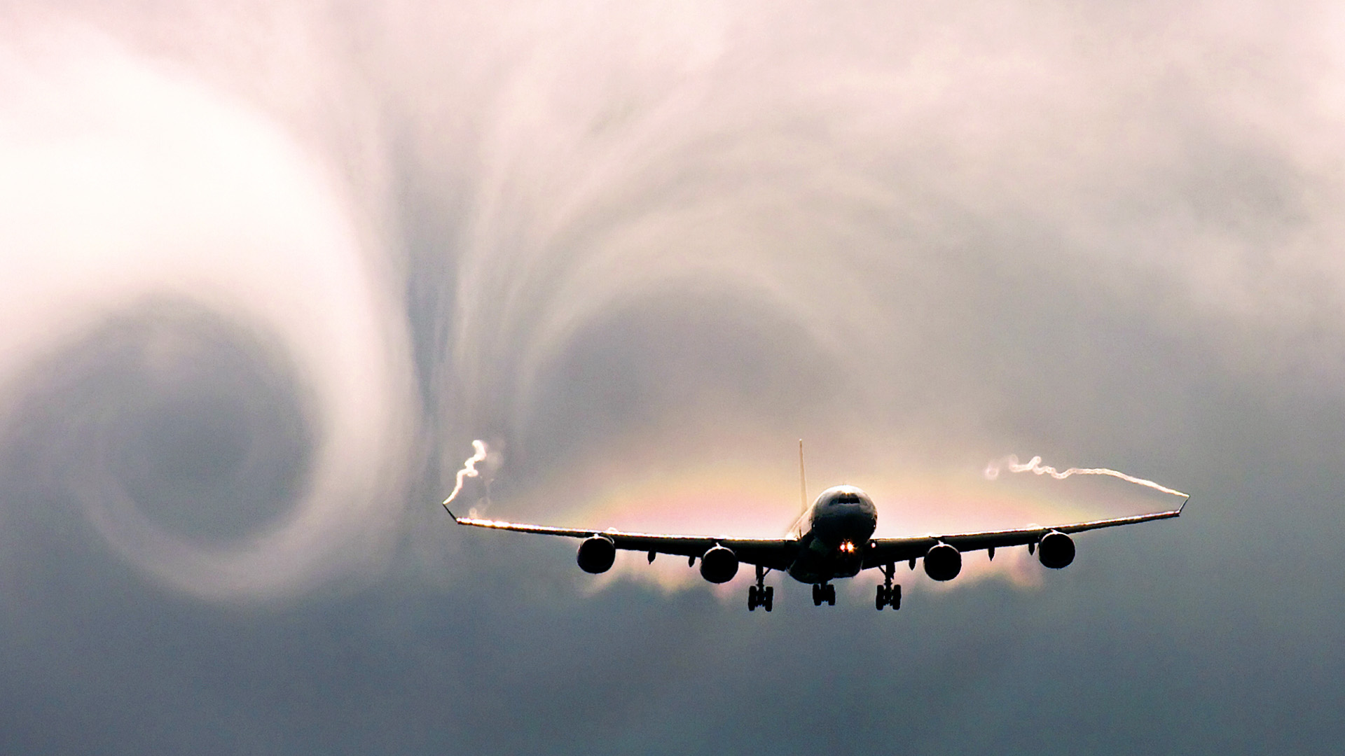 Severe Airplane Turbulence Pictures