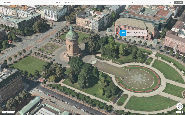 Apple Maps Google Street View